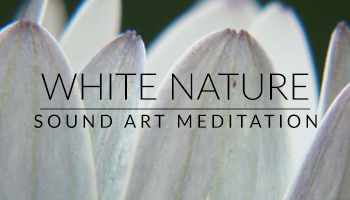White Nature Sound Art Meditation